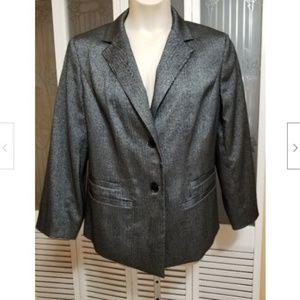 Anne Klein Beautiful Gray Ladies Jacket